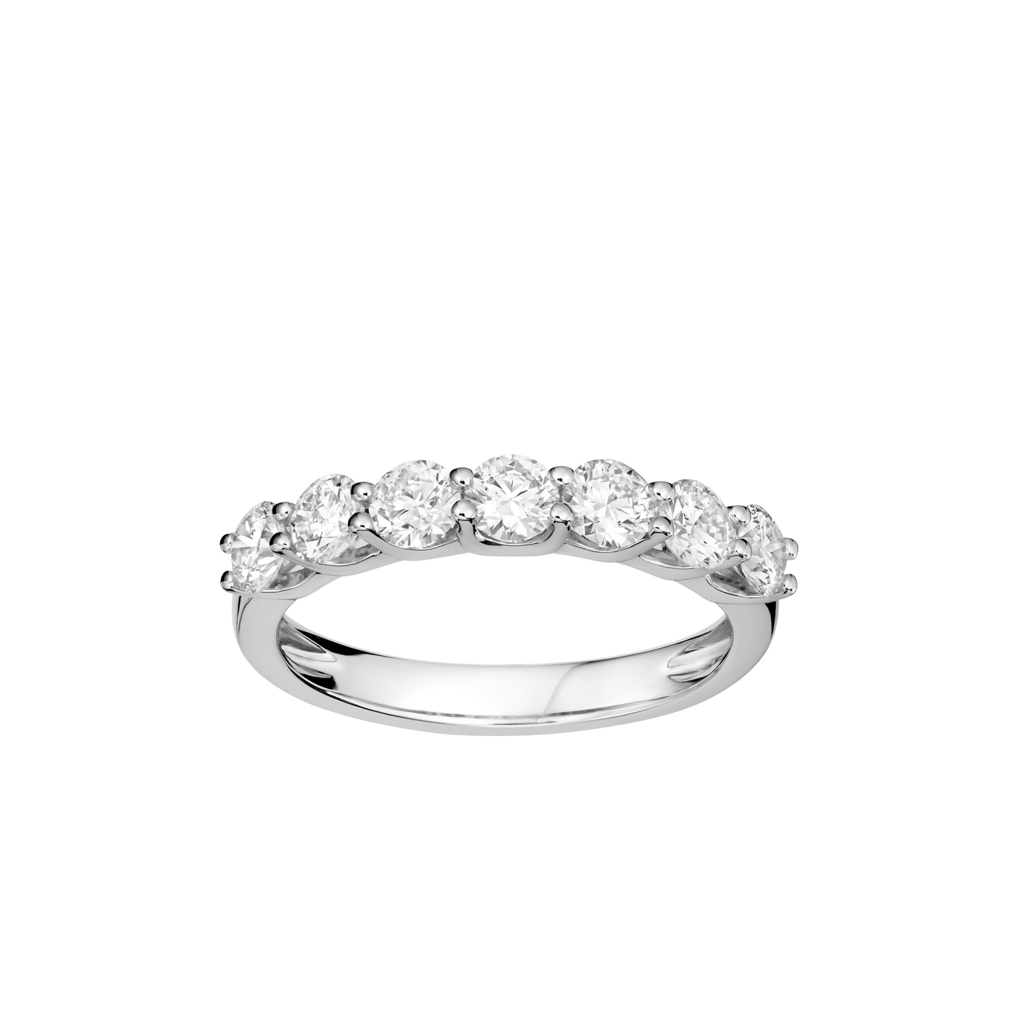 jewellery ring white london rings product gold half diamond eternity verifine