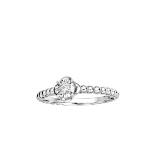 0.30ct Point Face Diamond Ring