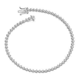 1.59 CT Total weight Full tennis Bracelet
