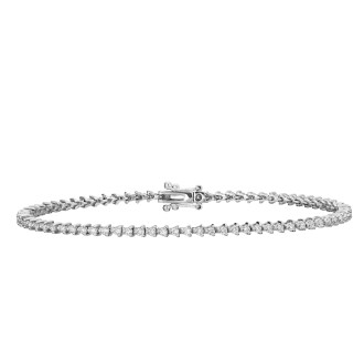 1.07CT Total weight Full tennis Bracelet
