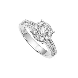 2.0ct Face Diamond Ring