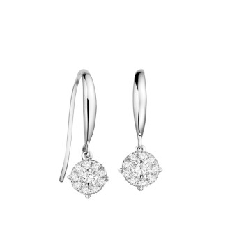 1.00ct Face Diamond Earrings