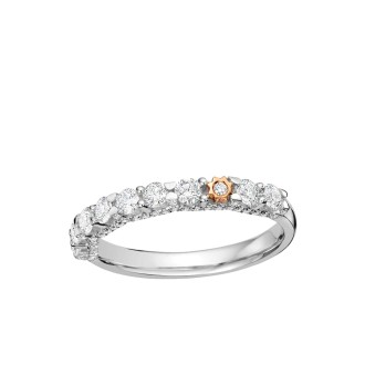 Orion Half Eternity Ring