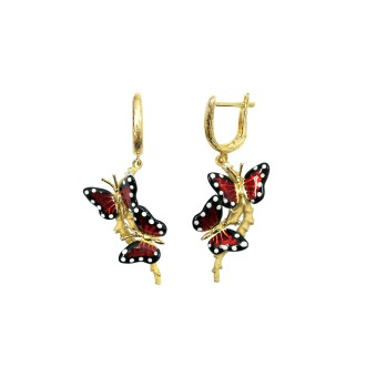 Monarch Butterfly Earring
