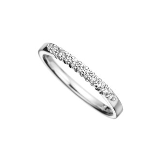 Half Eternity Diamond Ring