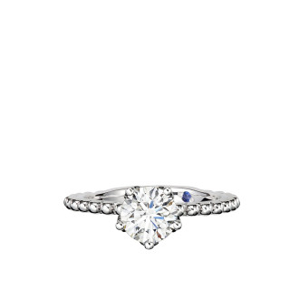 0.73ct Solitaire Ring