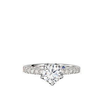 0.18CT DIAMOND RING