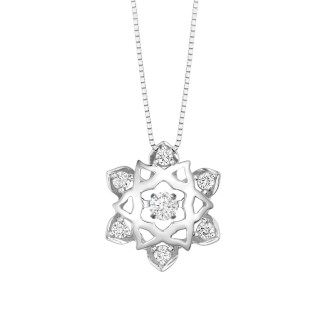 Pendant with free chain