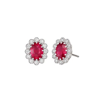 Eternal Ruby Earrings