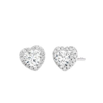 0.19ct each Solitaire earrings