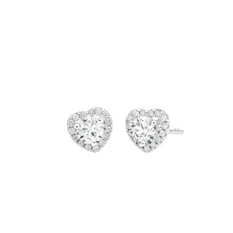 0.195ct each Solitaire earrings