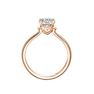 0.19ct Solitaire Ring
