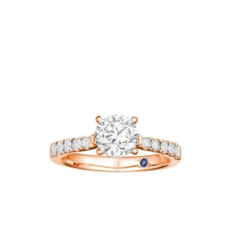0.18ct Solitaire Ring