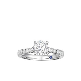 0.23ct Solitaire Ring