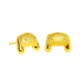 999 GOLD EARRINGS