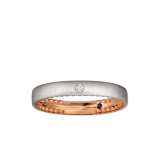 Crux Wedding Band