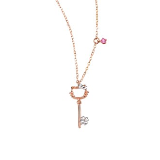 Hello Kitty Key Necklace