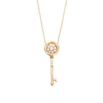 Key Diamond Necklace