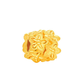 999 Gold National Flowers Charm (Exclusively available at Goldheart)