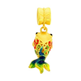 Gold Fish Charms