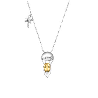 Gudetama Necklace