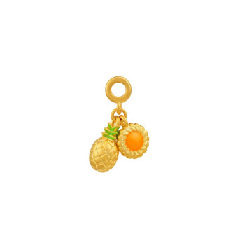 Pineapple Tart Pendant Charm (Exclusive CNY Charm Collection)