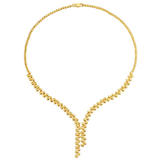 916 Mode Gold Necklace