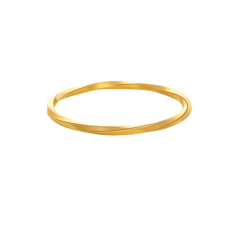 Twisted Square Bangle