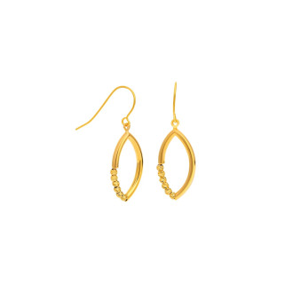 Mode Gold 916 Earrings