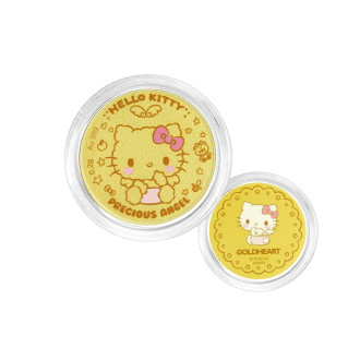 999 Gold Hello Kitty Baby Coin