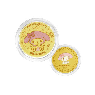999 Gold My Melody Baby Coin