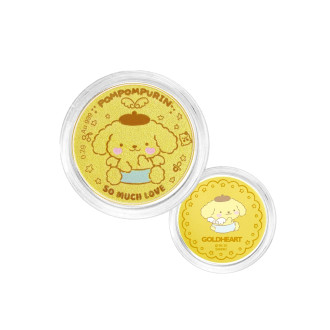 999 Gold Pompompurin Baby Coin