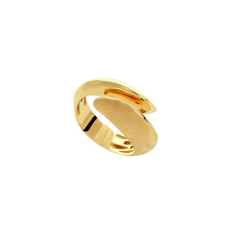 Acoustic Wave 916 Gold Ring