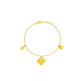 999 Gold My Melody Baby Anklet