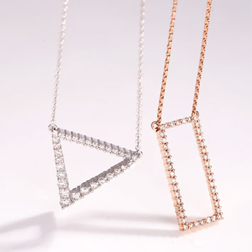 New GSS Gltiz necklaces