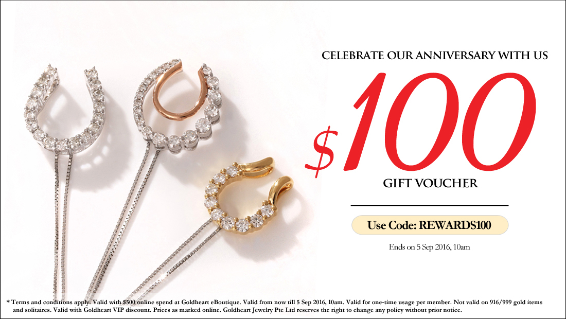 Anniversary Rewards $100