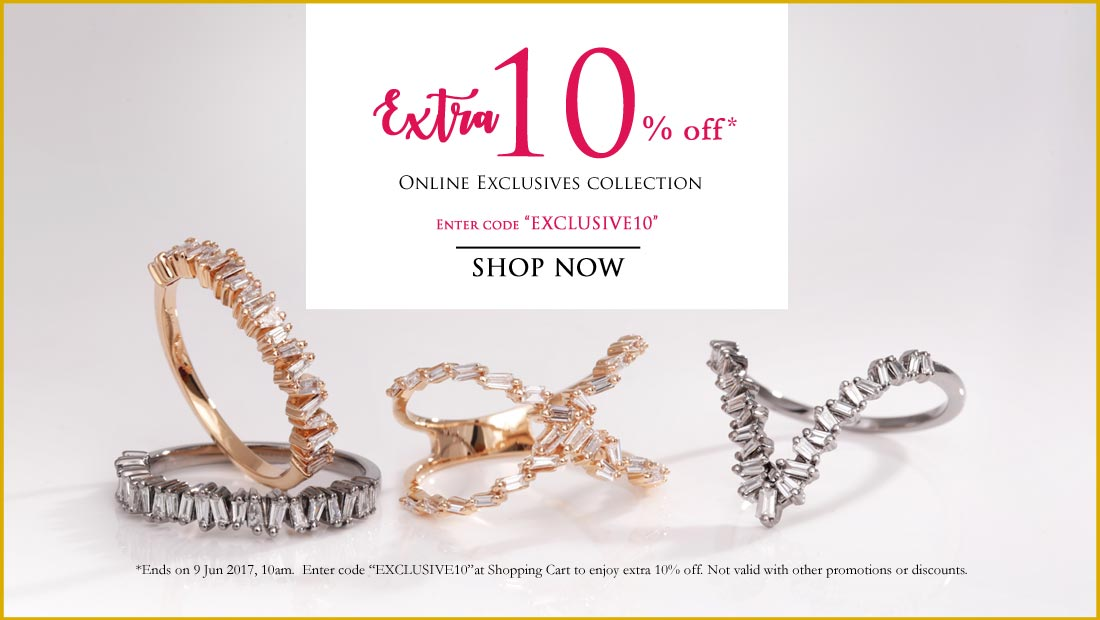 Addtional 10% off Online Exclusive