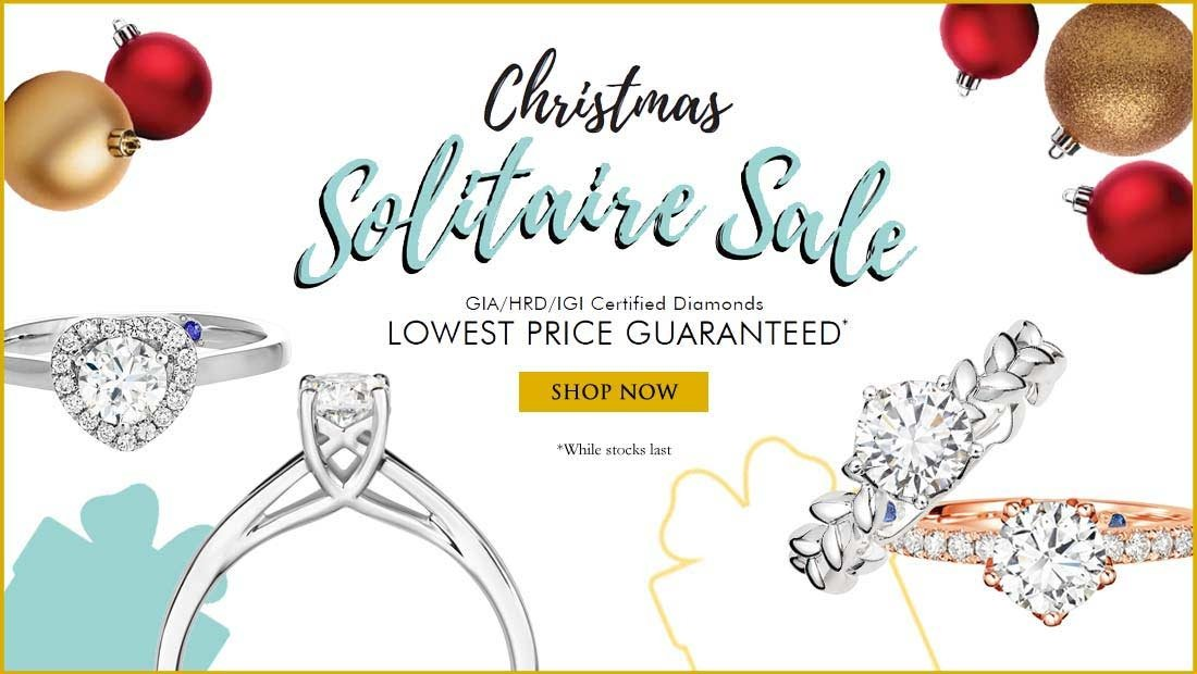 Christmas Solitaire Sale