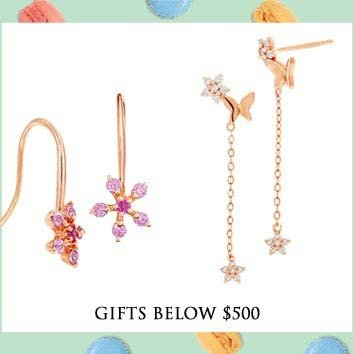 Gifts below $500