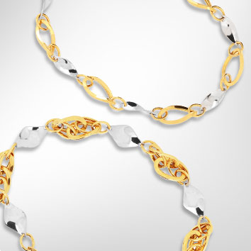New Mode Gold 916 bracelets